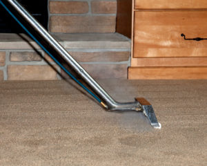 Green Clean steam cleaning carpet floor