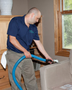 Green Clean upholstery cleaning