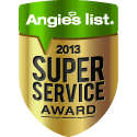 Green Clean is awarded Angie's List Super Service Award