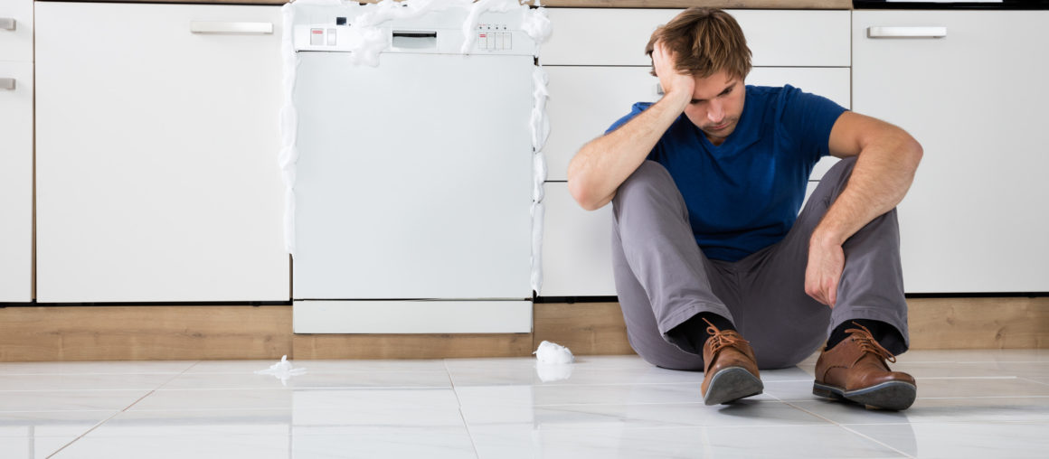The Dishwasher is Leaking; Now What?!