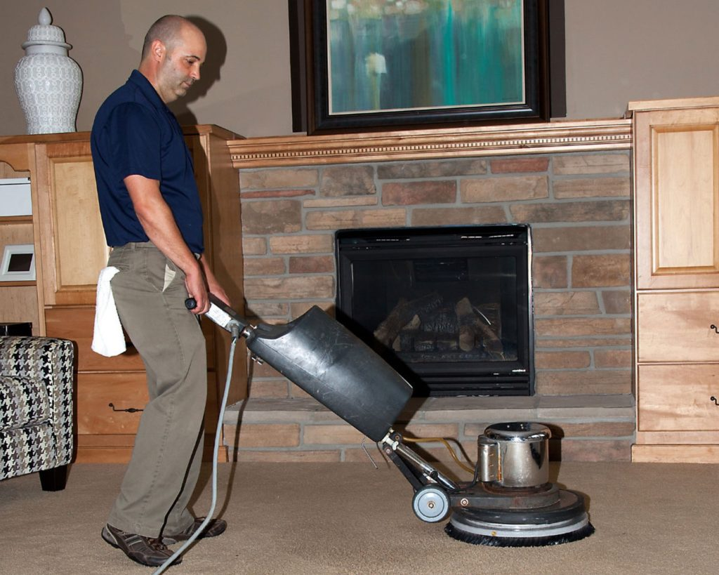 carpet cleaning scrubber in minneapolis